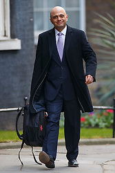 © Licensed to London News Pictures. 16/03/2016. London, UK. Culture, Business Secretary SAJID JAVID attending to a cabinet meeting in Downing Street on the Budget Day, Wednesday, 16 March 2016. Photo credit: Tolga Akmen/LNP