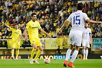 Bruno Soriano in action during the match of Uefa Europa League, 3 day. (Photo: Alter Photos / Bouza Press / Maria Jose Segovia)