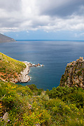 Zingaro Nature Reserve, Scopello, Sicily, Italy. Zingaro was the first natural reserve in Sicily, set up in 1981,