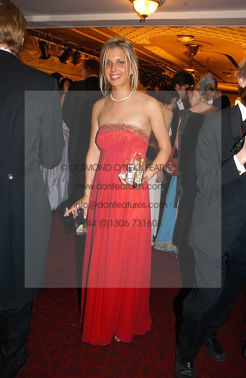 ISABELLE COATEN at  the Royal Caledonian Ball held at The Grosvenor House Hotel, Park Lane, London on 5th May 2006.<br /><br />NON EXCLUSIVE - WORLD RIGHTS