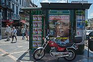 Bruxelles,23/06/2014: Edicola, Matonge - news kiosk