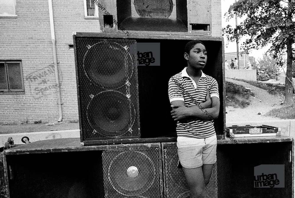 Washington DC USA - sound system 1985