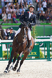 Patrice Delaveau, (FRA), Casall Ask - Show Jumping Final Four - Alltech FEI World Equestrian Games™ 2014 - Normandy, France.<br /> © Hippo Foto Team - Leanjo de Koster<br /> 07-09-14