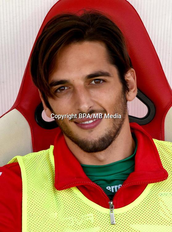 Italian League Serie B -2016-2017 / <br /> ( Carpi FC 1909 ) - <br /> Simone Colombi
