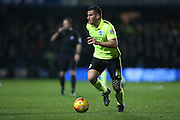 Brighton striker, Tomer Hemed (10) during the Sky Bet Championship match between Queens Park Rangers and Brighton and Hove Albion at the Loftus Road Stadium, London, England on 15 December 2015.