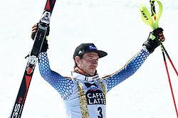 19.03.2017, Aspen, USA, FIS Weltcup Ski Alpin, Finale 2017, Slalom, Herren, Siegerpräsentation, im Bild Felix Neureuther (GER), // Felix Neureuther of Germany during the winner presentation for the men's Slalom of 2017 FIS ski alpine world cup finals. Aspen, United Staates on 2017/03/19. EXPA Pictures © 2017, PhotoCredit: EXPA/ Erich Spiess