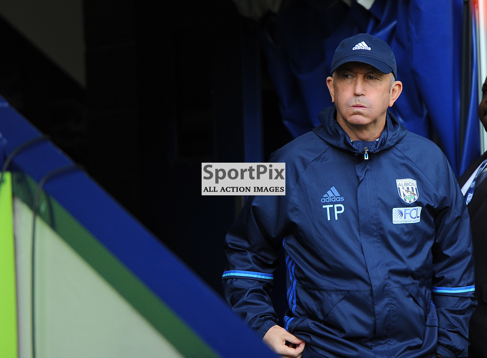West Brom Manager Tony Pulis heads out of the tunnel before West Bromwich Albion vs Arsenal, Premier League , 18.03.17 (c) Harriet Lander | SportPix.org.uk