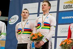 DE VRIES Stephen Pilot:  BOS Patrick, NED, Pursuit Finals , 2015 UCI Para-Cycling Track World Championships, Apeldoorn, Netherlands