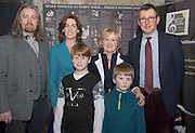09/01/2017 Hugh Kelly, Maoin Cheoil na GaillimheHildegarde Naughton, TD, Mary Dooley, Chair, Galway Music Centre and Mark Duley, St. Nicholas Schola Cantorum with James Kelly and Glen Kelly in the Mick Lally Theatre , Druid for the launch of the Galway Music Centre. Photo: Andrew Downes,  xposure