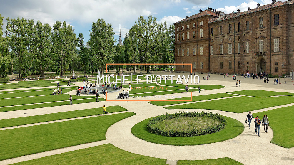 Giardini Reali, Torino. Gli spazi verdi che abbracciano i Musei Reali. La riapertura interessa un'area di cinque ettari dei sette complessivi.