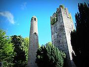 Swords Round Tower & Belfrey, Swords,  Dublin – c.10th & c.14th