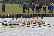 Henley, GREAT BRITAIN,   2008 Women's Boat race at the  Henley Boat Races, at Henley on Thames, England, 23/03/2008. [Mandatory Credit, Peter Spurrier / Intersport-images Rowing Courses, Henley Reach, Henley, ENGLAND