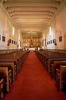 Mission Santa Ines Church Interior, Solvang, California