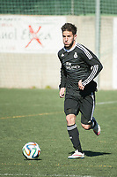 Real Madrid Castilla´s  Francisco Rodriguez during 2014-15 Spanish Second Division B match between Trival Valderas and Real Madrid Castilla at La Canaleja stadium in Alcorcon, Madrid, Spain. February 01, 2015. (ALTERPHOTOS/Luis Fernandez)