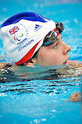 Beijing 2008 Paralympic Games..Elizabeth Johnson of Great Britain in The National Aquatics Centre swimming in the women's 50 metre butterfly S 6 Heats at the Paralympic games, Beijing, China. 13th September 2008