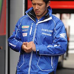 British Superbikes, Knockhill, 14-06-2013<br /> <br /> Samsung Honda, Ryuichi Kiyonari, 23<br /> <br /> (c) David Wardle | StockPix.eu