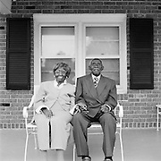 Herbery and Zelmyra Fisher, World Record Holders for Longest Marriage for a Living Couple, New Bern, N.C., 2009. The two were married May 13, 1924.