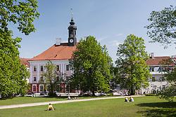 Tartu Town Hall, Estonia, Europe