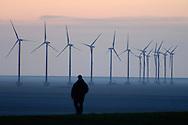 Nederland, Eemshaven, 12 maart 2007..Eemshaven, Groningen. .Windpark, windenergie, duurzame energie, duurzaam, wind-energie, wind energy, windturbines, alternatieve energie, energy, sustainable energy, windmills, co2, klimaat, klimaatverandering..Foto: (c) Michiel Wijnbergh