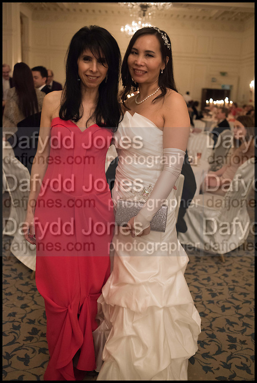 STELLA WALKEY; HELEN YOUNG, The St. Petersburg Ball. In aid of the Children's Burns Trust. The Landmark Hotel. Marylebone Rd. London. 14 February 2015. Less costs  all income from print sales and downloads will be donated to the Children's Burns Trust.