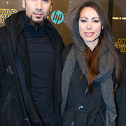 NLD/Amsterdam/20151215 - première van STAR WARS: The Force Awakens!, Jermain van der Bogt en partner
