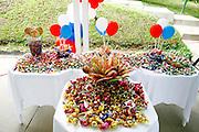 Santa Luzia_MG, Brasil...Detalhe de mesas com doces em Santa Luzia...Detail of tables with candies in Santa Luzia...Foto: LEO DRUMOND / NITRO