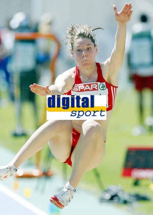 Friidrett, 27. juli  2010 ,<br /> EM Barcelona<br /> <br /> European Athletics Championships<br /> Barcelona<br /> <br /> Irene Pusterla , SUI , lengde<br /> <br /> Foto: Anders Hoven , Digitalsport