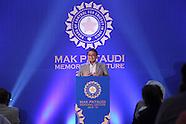 Cricket - Mansoor Ali Khan Pataudi Memorial Lecture 2013