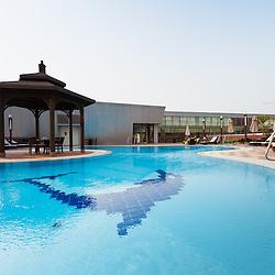 Piscina do HCTA Hotel de Convenções de Talatona. Luanda Sul. Angola