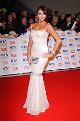 Amy Childs at the National Television Awards held in London on Wednesday, 25th January 2012. Photo by: i-Images