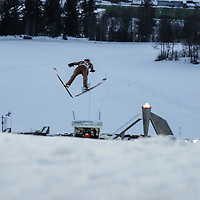 Raw Air photos from Lillehammer. Raw Air is a ten day tournament in ski jumping and ski flying as part of World Cup competition. It will be held in March 2017 in Norway at four different ski jumping hills: Oslo, Lillehammer, Trondheim and Vikersund.