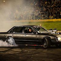 Shot at the Perth Motorplex's Good Friday Burnout King Event