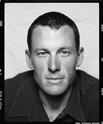 Portrait of American professional cyclist Lance Armstrong, June 2009. Photo By FranÁois Darmigny / Bureau233/ i-Images