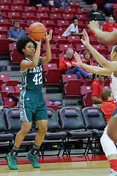 10 December 2017: Micah Robinson during an College Women's Basketball game between Illinois State University Redbirds and the Eagles of Eastern Michigan at Redbird Arena in Normal Illinois.