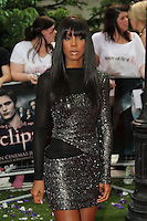 Kelly Rowland The Twilight Saga: Eclipse UK Gala Premiere, Leicester Square Gardens, London, UK, 01 July 2010:  For piQtured Sales contact: Ian@Piqtured.com +44(0)791 626 2580 (Picture by Richard Goldschmidt/Piqtured)