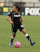 ATLANTA, GA - AUGUST 06:  Forward Marta #10 of the Western NY Flash scored 2 goals during the Women's Professional Soccer game between the Atlanta Beat and the Western New York Flash at Kennesaw State University Soccer Stadium on August 6, 2011 in Atlanta, Georgia.  (Photo by Mike Zarrilli/Getty Images)