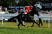 """Knight Commander ridden by Raul Da Silva and trained by Steve Flook in the Play """"Four From The Top"""" At Valuerater.Co.Uk Handicap (Value Rater Racing Club Summer Stayers' Qual) race.  - Ryan Hiscott/JMP - 02/08/2019 - PR - Bath Racecourse - Bath, England - Race Meeting at Bath Racecourse"""