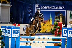 VISSCHER Janne (GER), La Grafina<br /> Braunschweig - Löwenclassics 2019<br /> HGW Bundesnachwuchschampionat der Springreiter<br /> Stilspringprüfung<br /> 23. März 2019<br /> © www.sportfotos-lafrentz.de/Stefan Lafrentz
