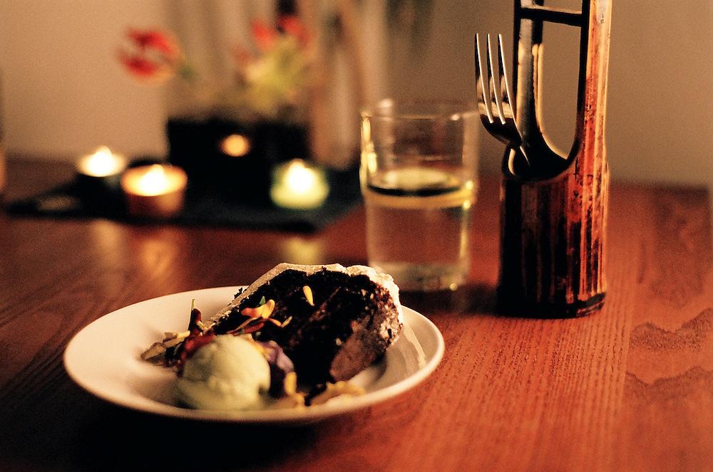 Asian Fusion Cuisine Dinner Party Romantic Dessert