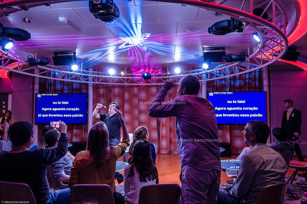 Royal Caribbean, Harmony of the Seas, Karaoke night