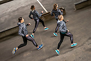 Female athletes from Adidas Runners take to the streets of Copenhagen