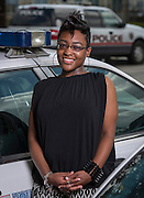 Jerrika Ford poses for a photograph, July 7, 2014.