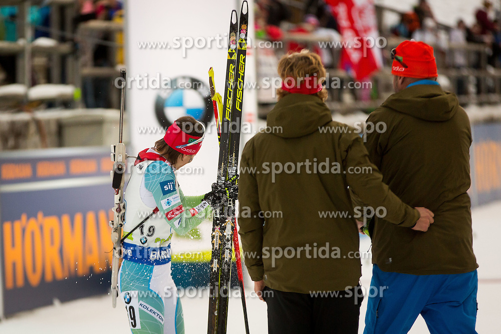 Andreja Mali (SLO) during Women 4x6 km Relay at day 3 of IBU Biathlon World Cup 2016/2017 Pokljuka, on December 11, 2016 in Rudno polje, Pokljuka, Slovenia. Photo by Žiga Zupan / Sportida