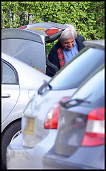 Former Energy Secretary Chris Huhne released after serving eight weeks of his eight month sentence for perverting the course of justice at Gloucestershire's Leyhill open prison, the 58-year-old will have to wear a tag while he serves the remainder of his eight-month sentence under licence. Monday 13 May, 2013, Photo by: i-Images