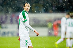 Branko Ilic of NK Olimpija Ljubljana during football match between NK Maribor and NK Olimpija Ljubljana in 2nd leg match in Quaterfinal of Slovenian cup 2017/2018, on November 29, 2017 in Ljudski vrt, Maribor, Slovenia. Photo by Ziga Zupan / Sportida