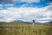 Rambling and fishing with Nissan and Jackson Kayaks in Colorado.