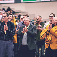 during the Men's Basketball Alumni Weekend on Sat Nov 03 at Centre for Kinesiology,Health and Sport. Credit: Arthur Ward/Arthur Images