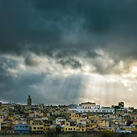 Rays over Morocco