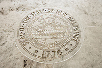 Seal of New Hampshire in Fort Bonifacio; Manila; Philippines