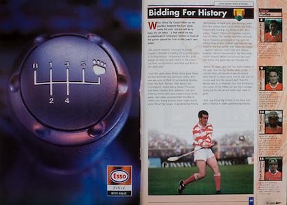 All Ireland Senior Hurling Championship - Final, .12.09.1999, 09.12.1999, 12th September 1999,.12091999AISHCF,.Senior Kilkenny v Cork,.Minor Galway v Tipperary, .Cork 0-13, Kilkenny 0-12,.Esso,